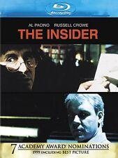 THE INSIDER (1999 Russell Crowe, Al Pacino)   Blu Ray - Sealed Region free