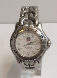 9760ec5cb344 Image is loading Vintage-Tag-Heuer-Men-039-s-Stainless-Steel-