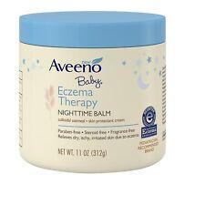 Aveeno Baby Eczema Therapy Nighttime Balm (11oz/ 312g)