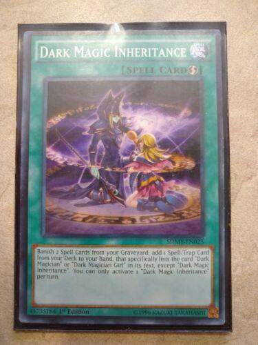 LEDD-ENA18 Common 1st Ed Edition 1x Dark Magic Inheritance