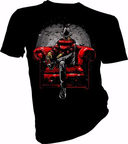 HORROR Nightmare on Elm STR Adulti /& Bambini T-shirt NIGHT NOTTE Storia HALLOWEEN