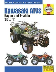 Kawasaki-Bayou-amp-Prairie-ATVs-1986-2011-Repair-Manual