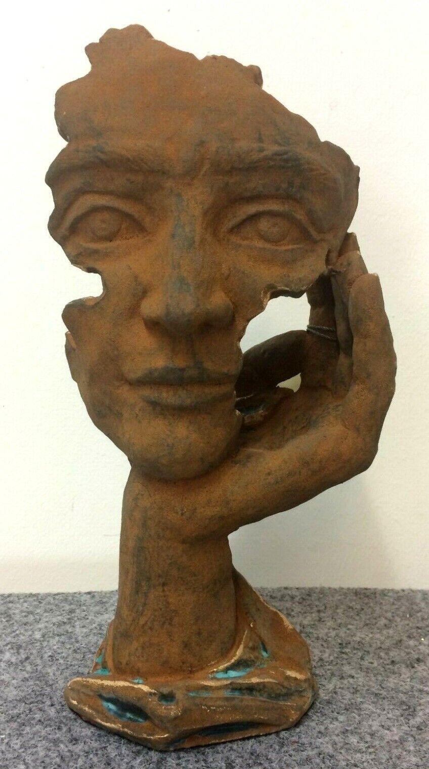 A. Anglada made in spain 28 cm escultura look mano cara observar inteligente Loft