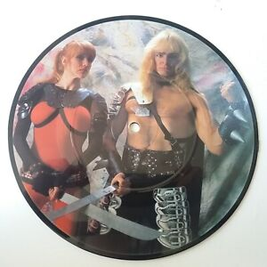 Thor-Thunder-On-The-Tundra-Vinyl-7-034-Picture-Disc-Single-Original-EX