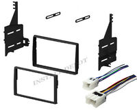 Complete Radio Stereo Dash Kit W/ Wire Harness Install For 05-2006 Nissan Altima