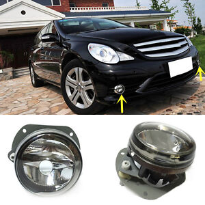 For mercedes benz r class 2005 2012 front bumper fog light for Mercedes benz r350 accessories