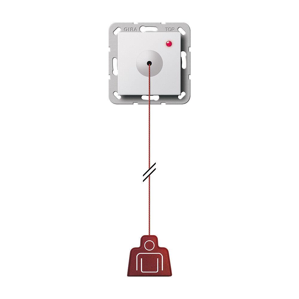 Gira 291203 Zugtaster System 55 Reinweiß glänzend  | Sale Online Shop