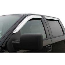PROMAXX CHR6222-8 Chrome Window Visors for 2002-2008 Dodge Ram Quad Cab 4Pc