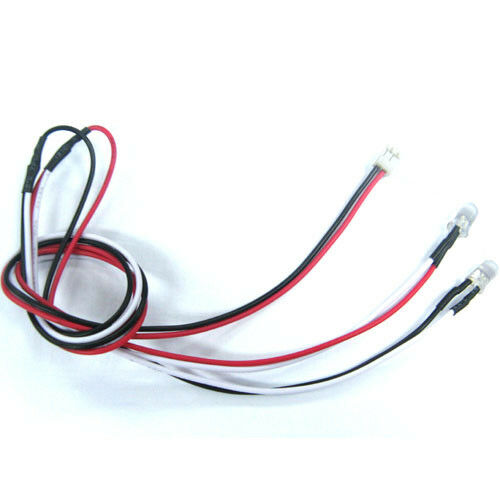 3mm WHITE LEDS + suit TAMIYA LED LIGHT UNIT TLU-01,TLU-02, MFC or alone 1:10 RC