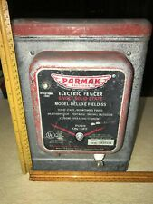 Vintage Parmak 6 Volt Solid State Electric Fence Charger Model Deluxe Field Ss