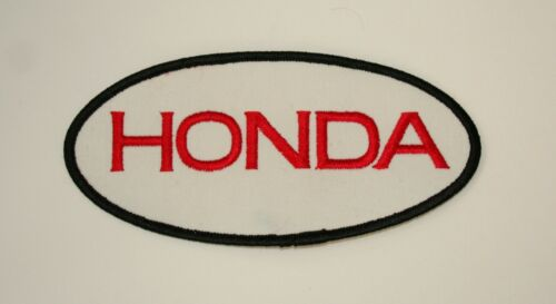 "Lg 6+/"" Honda Automotive Service Car Motorcycle Cloth Jacket Patch New NOS 1970s"