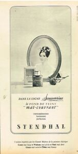 L-Publicite-Advertising-1968-Cosmetique-creme-Maquillage-Stendhal