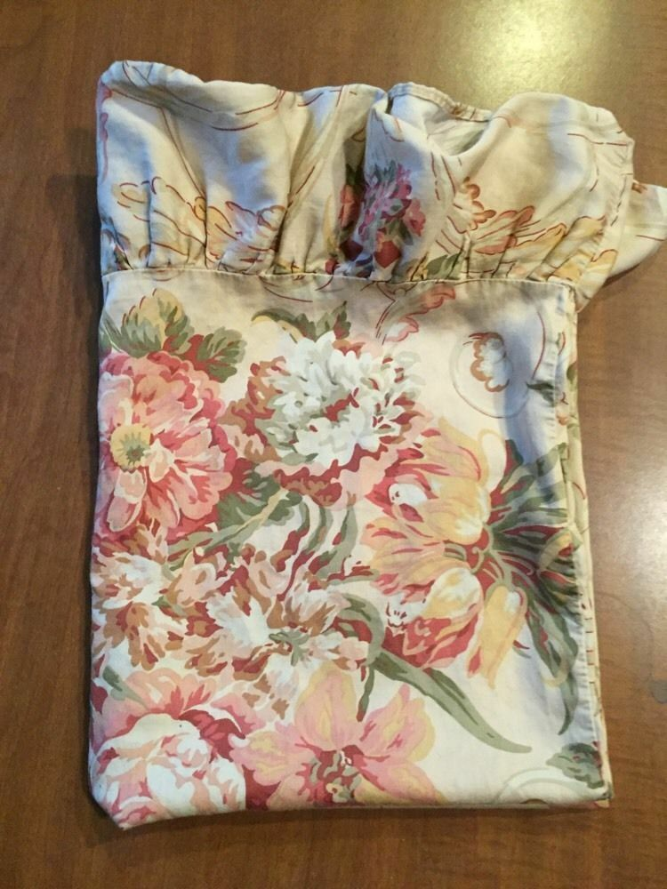 RALPH LAUREN One Standard Pillow SHAM GUINEVERE - MADE IN ITALY- SEWN IN USA