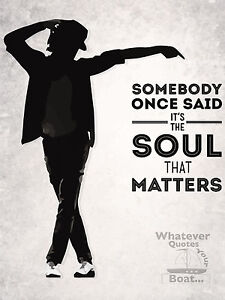 Michael Jackson Poster Print Quote Famous Picture Wall Art Canvas