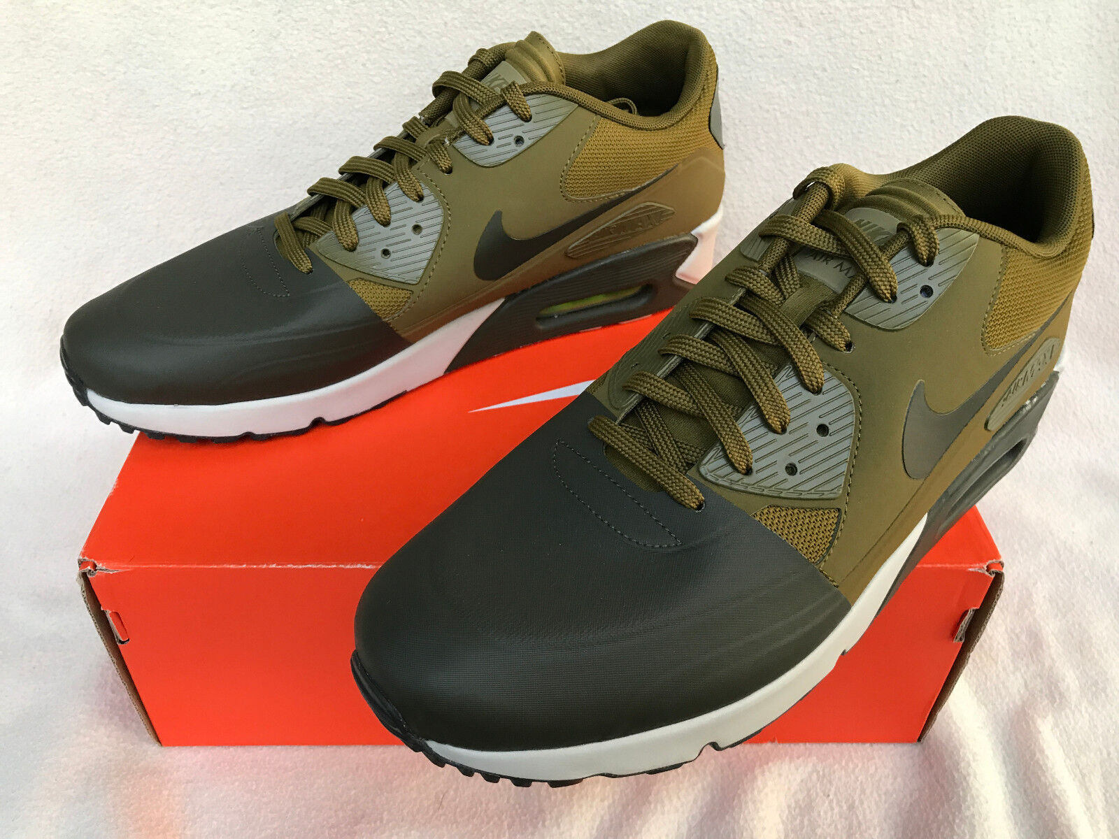 Max Ultra 90 Ultra Max 2.0 Nike Air SE 876005-300 cargo Militia Zapatillas Para Correr Para hombres 12 Nuevo 0f1361