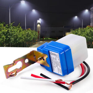 Automatic Street Light Switch Auto Night On Day Off Photo Control ...
