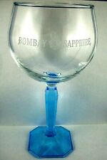 2 Bombay Sapphire Large Gin Glasses// Balloons Brand New  Authentic