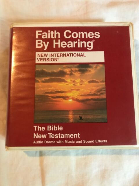Faith Comes by Hearing NIV Bible Testament Audio Drama With Music 16 CD Set