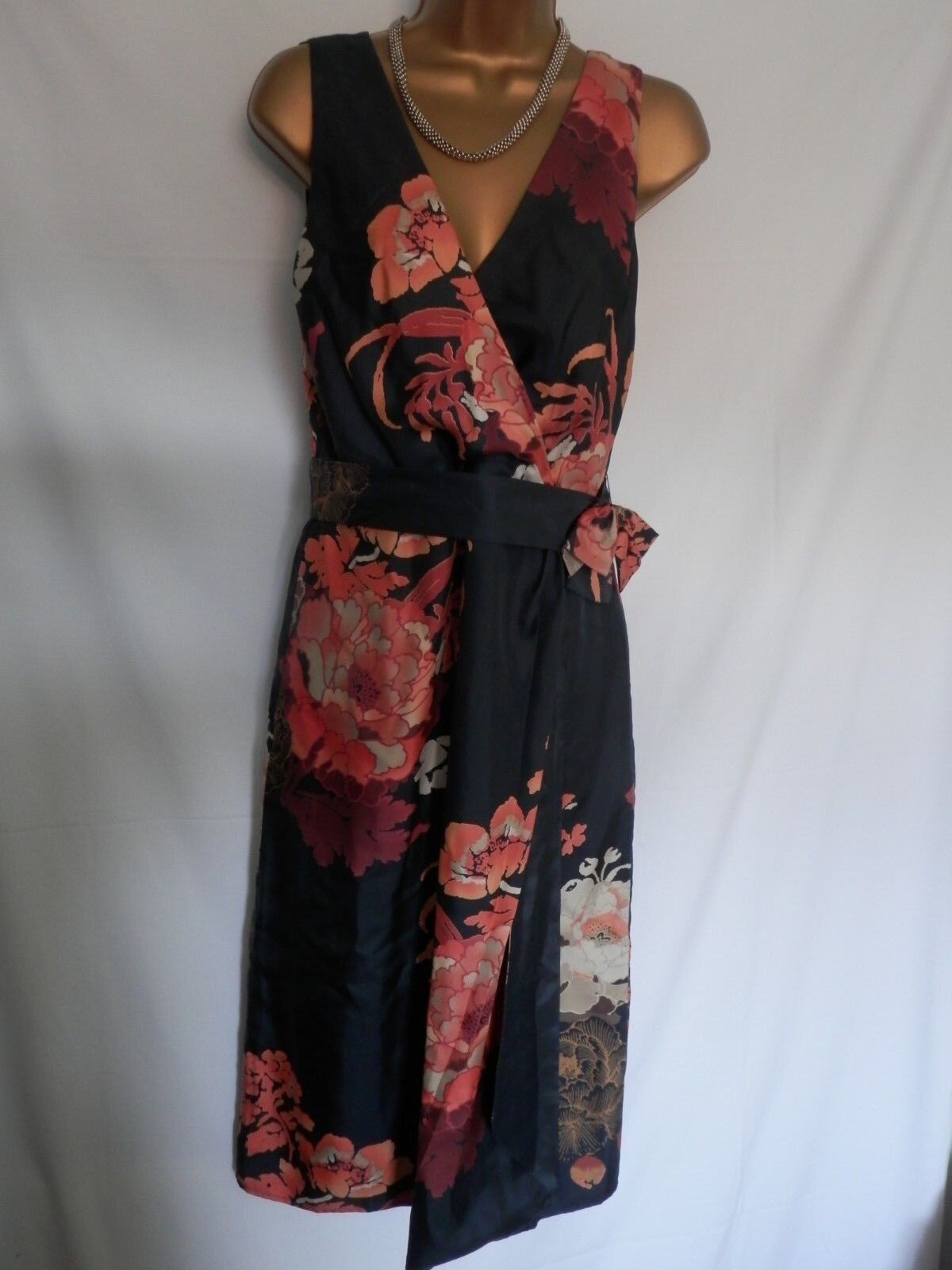 Phase Eight Oriental evening cruise occasion dress sz 14