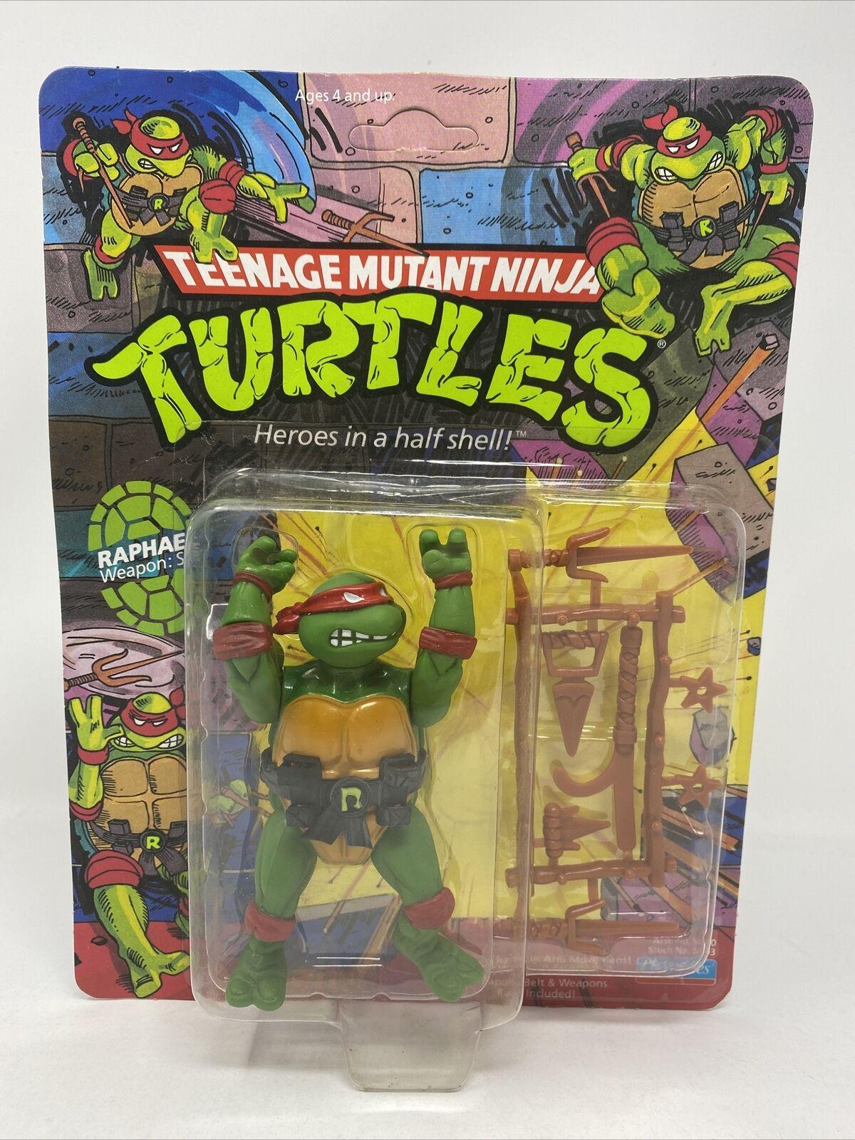 """Raphael-Teenage Mutant Ninja Turtles//3 3//4/"""" Action Figure w SAI poignards"""