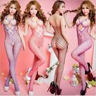 Sexy Mesh Bodysuit Halter Sexy Lingerie Women Sleepwear Body Stocking