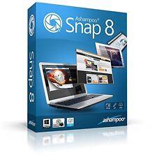 Ashampoo Snap 8 deutsche Vollversion ESD Download