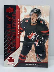 Upper-Deck-Team-Canada-2019-Josh-Brook-Program-Of-Excellence-Exclusive-Habs