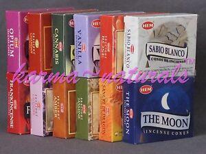 2-BOXES-20-Cones-HEM-CONE-INCENSE-Ur-Scent-Choice-Buy-3-Get-1-Free-put4ncart