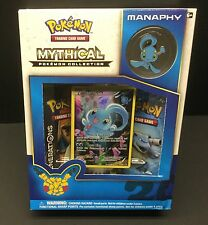 Pokemon Generations Manaphy Mythical Collection Box! 2 Boosters, Pin & Promo