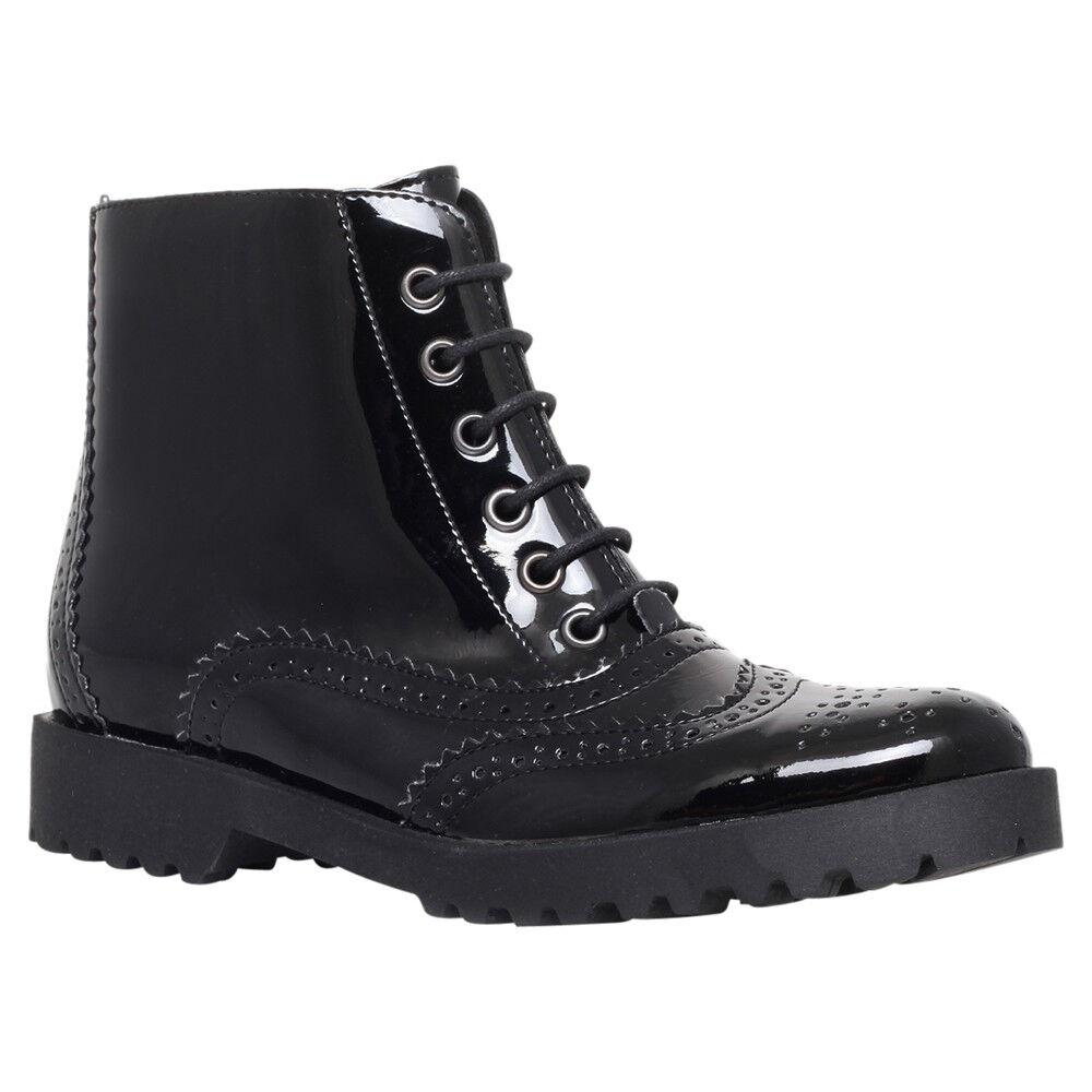 CARVELA BLACK Stiefel .. PATENT 5 / ANKLE .... UK 5 PATENT  EU 38 .. NEW / KURT GEIGER 71a0ad