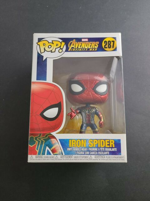Funko Pop! Marvel: Avengers Infinity War - Iron Spider Man #287 Collectible