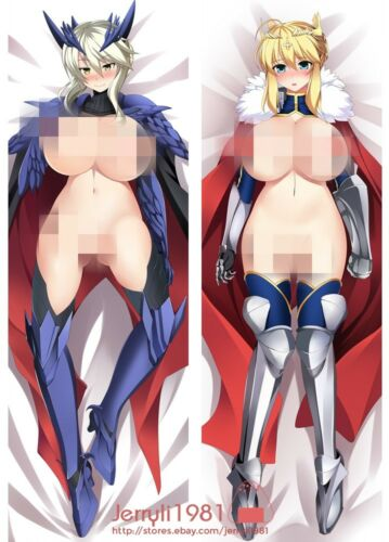 "150x50cm Fate stay night Dakimakura PillowCase Long Hug Body Cushion Cover 59/"""