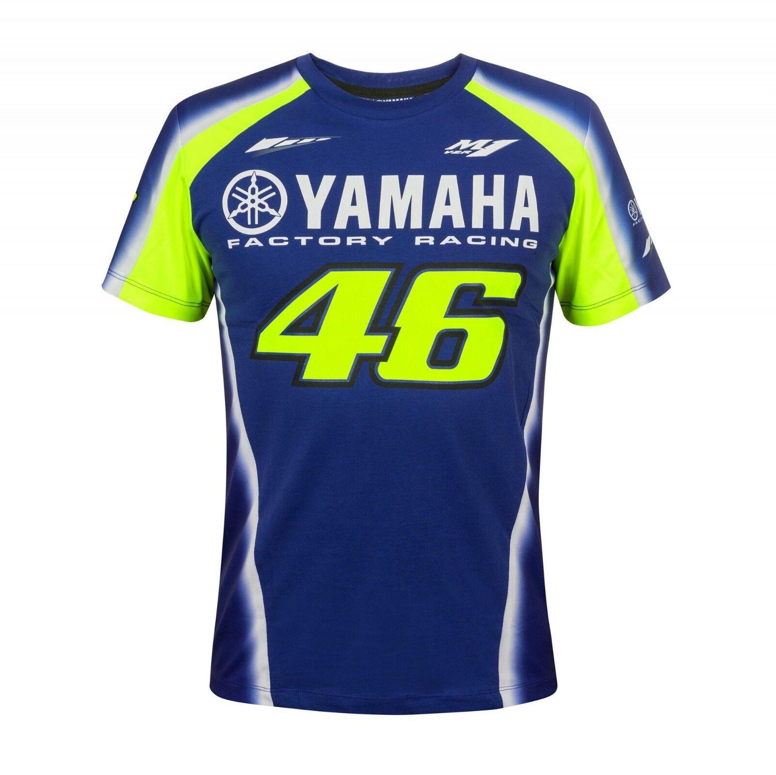 VR 46 - Valentino Rossi Herren T-Shirt - - - Yamaha Racing 2018 - Gr. S - XXL | Shop Düsseldorf  | Haltbarer Service  | Sorgfältig ausgewählte Materialien  eef809