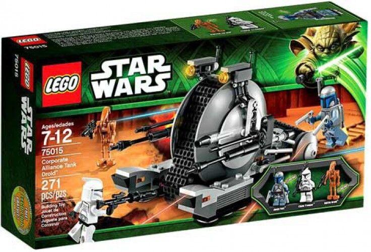 LEGO Star Wars The Clone Wars Corporate Alliance Tank Droid Set