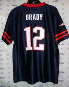 Detalles acerca de $60 de la NFL New England Patriots Tom Brady Equipo Juvenil Jersey Xl Nº 12 Azul Superior- mostrar título original