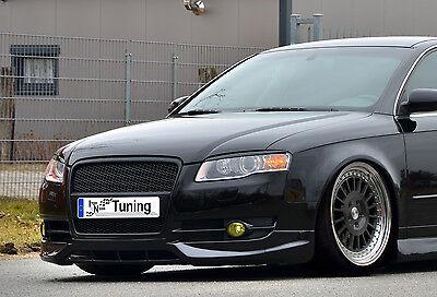 Frontspoiler Lippe Schwert Cup Spoiler aus ABS für Audi A4 B7 Bj 2004-2008