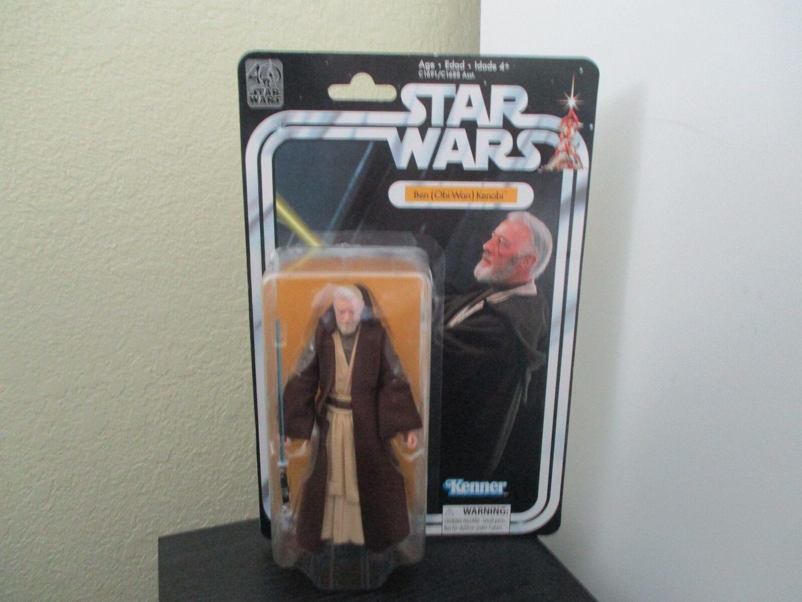 Star Wars 40th Anniversary Ben Obi-Wan Kenobi 6 inch New   Never been opened
