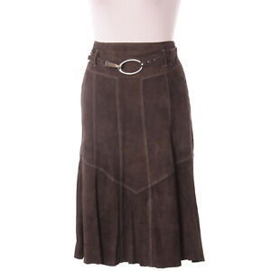 Gerry Weber Damen Rock Skirt Midirock Kleid Gr.36 Leder A ...
