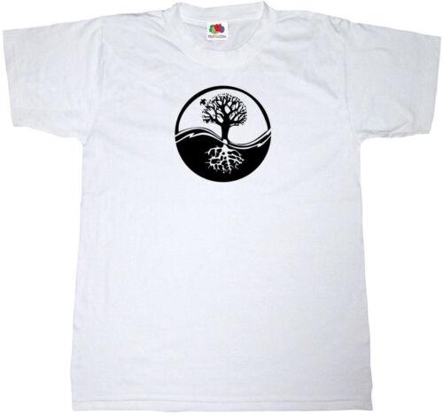 RETRO VINTAGE CELTIC TRIBAL TREE OF LIFE CIRCLE 100/% cotton Mens T-shirt TEE