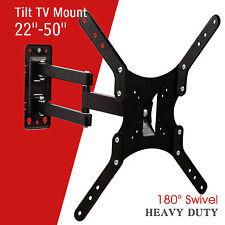 """22""""-50"""" LCD LED Plasma Flat Tilt Full Motion Swivel TV Wall Mount Bracket"""