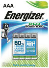 12 X Energizer Eco Advanced AAA Lr03 Batteries