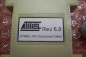 AMTEL REV 6.0 ISP DOWNLOAD CABLE 25 PIN MALE TO 10 PIN