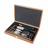 Outers 28 - Piece Universal Wood Gun Cleaning Box (.22 Caliber ... Free Shipping