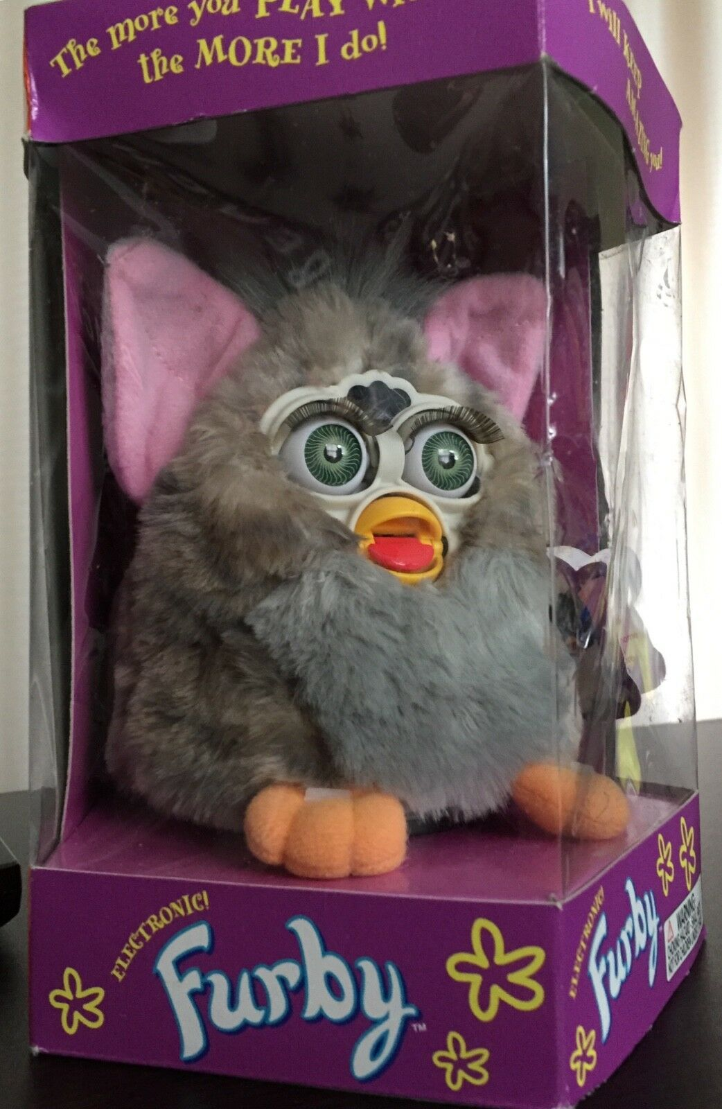 NEW IN THE BOX i 1998 Original Furby  Box has never been opened