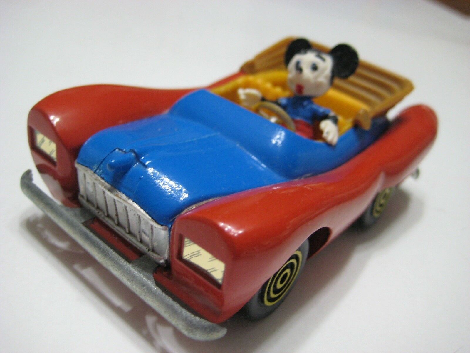 Politoys-M () bluee Red Yellow Topolino Diecast 1 40