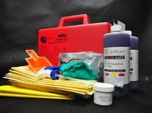 Cleaning & Janitorial Supplies Business & Industrial Spilfyter 440133 Battery Acid Spill Kit Last Style
