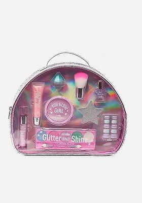 justice girls just shine mega beauty kit makeup bag gift