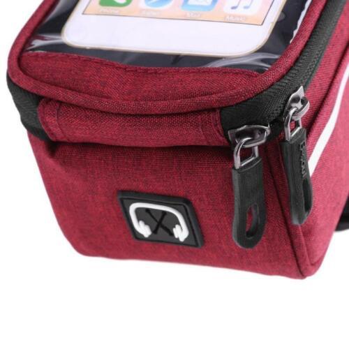 Bike Bag Phone Holder with Touch Screen Frame Bag Waterproof Bike