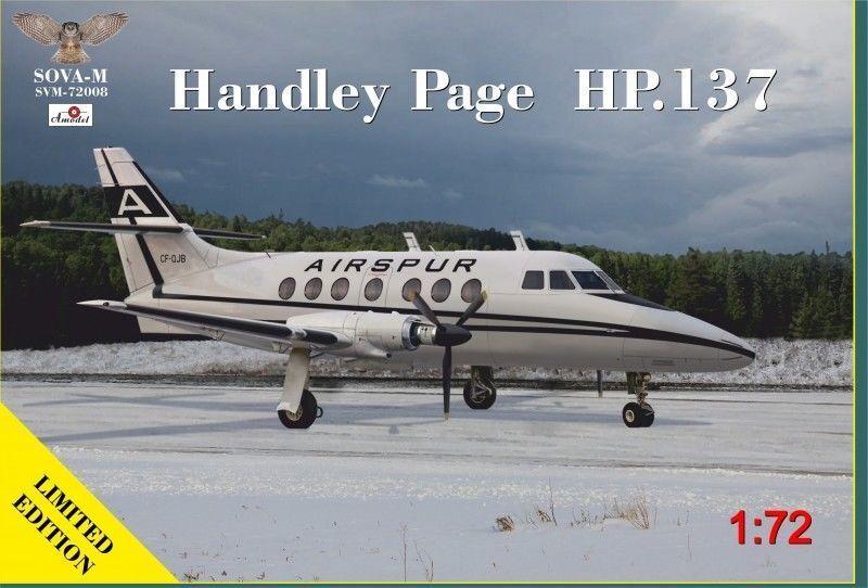 1 72 Sova Amodel HP-137 Handley Page 72008