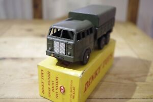 Dinky-Camion-Militaire-Berliet-Tous-Terrains-French-80D-Boxed-818